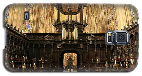 Organ And Choir - King's College Chapel Galaxy S5 Case