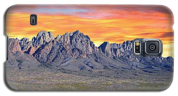 Organ Mountain Sunrise Most Viewed  Galaxy S5 Case by Jack Pumphrey