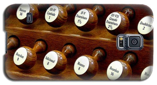Organ Stop Knobs Galaxy S5 Case