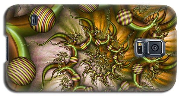 Galaxy S5 Case featuring the digital art Organic Playground by Gabiw Art