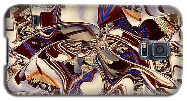 Organic Web - Fine Art Digital Abstract - Rd Galaxy S5 Case