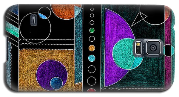 Organized Planets Galaxy S5 Case by Mary Bedy
