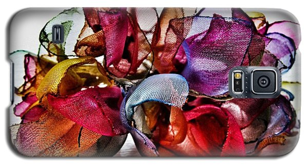 Galaxy S5 Case featuring the photograph Organza Petals by Marianna Mills