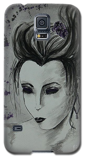 Galaxy S5 Case featuring the painting Orient Express by Tamyra Crossley