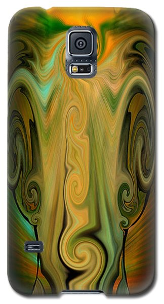 Galaxy S5 Case featuring the digital art Orient - The Jar by rd Erickson