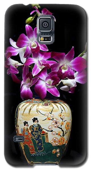 Oriental Orchids. Galaxy S5 Case by Terence Davis