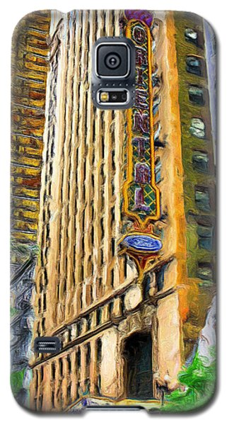 Oriental Theater Of Chicago Galaxy S5 Case