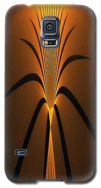 Oriental Vase Galaxy S5 Case by GJ Blackman
