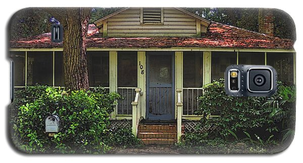 Galaxy S5 Case featuring the photograph Original Beach Cottage #108 by Laura Ragland