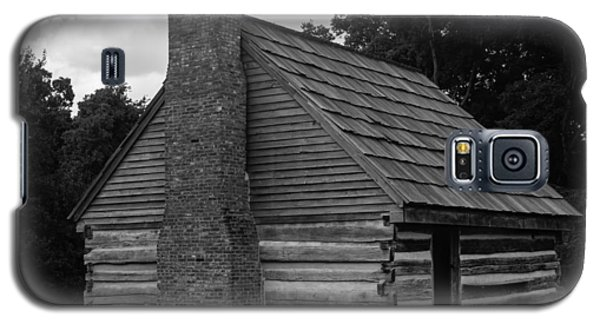 Galaxy S5 Case featuring the photograph Original Cabin Of President Andrew Jackson by Robert Hebert
