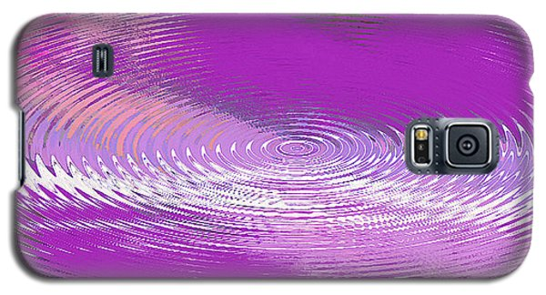 Original Fine Art Digital Abstract Galaxie Violet Galaxy S5 Case