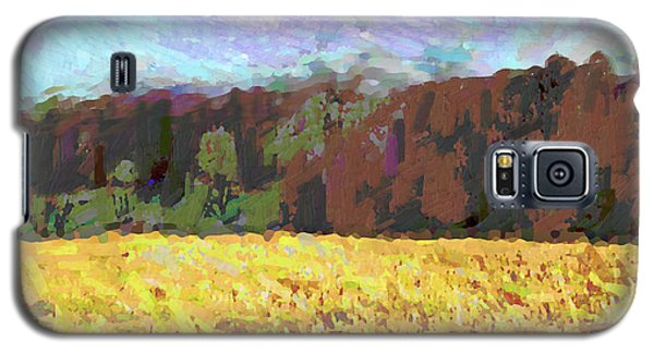 Original Fine Art Digital Autumn Fields Maryland Detail Galaxy S5 Case