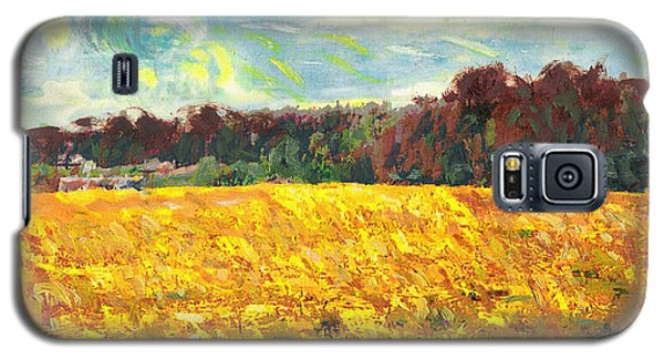 Original Fine Art Digital Autumn Fields Maryland Galaxy S5 Case