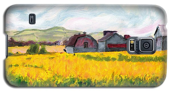 Original Fine Art Digital Springtime Fields Farm Maryland Galaxy S5 Case