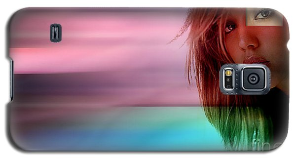 Original Jessica Alba Painting Galaxy S5 Case by Marvin Blaine