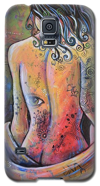 Original Painting Woman Art Art Print ... The Company You Keep Galaxy S5 Case
