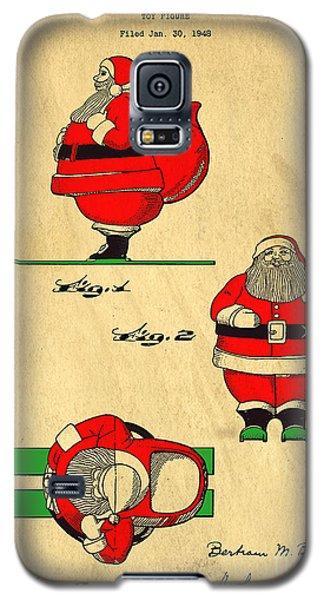 Original Patent For Santa On Skis Figure Galaxy S5 Case