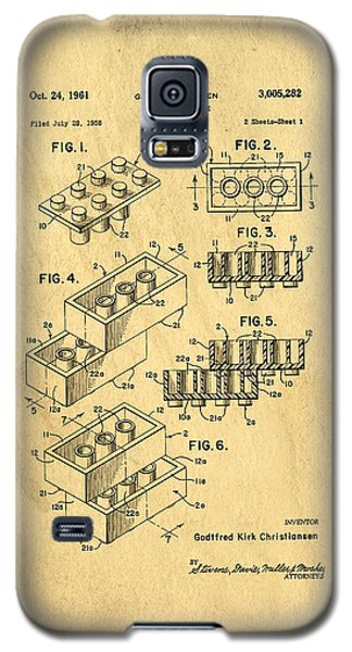 Original Us Patent For Lego Galaxy S5 Case