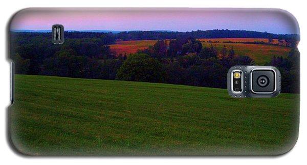 Original Woodstock Concert Site - Back To The Garden Galaxy S5 Case by Susan Carella