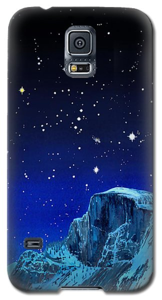 Orion Over Halfdome Galaxy S5 Case