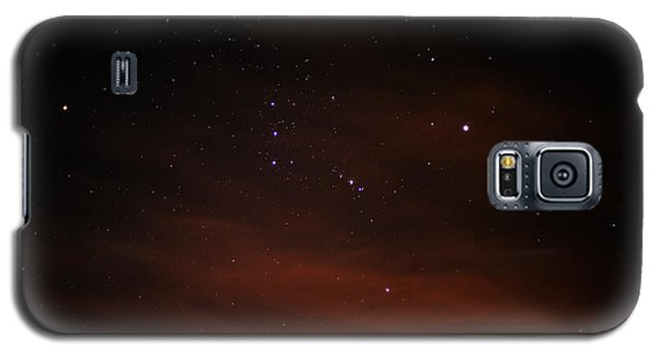 Orion With His Feet In The Clouds Galaxy S5 Case by Richard Stephen