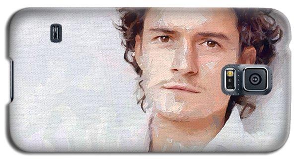 Orlando Bloom Galaxy S5 Case - Orlando by Bogus Florjan
