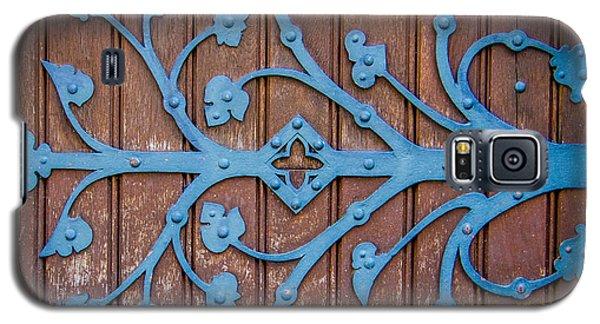Ornate Church Door Hinge Galaxy S5 Case by Mr Doomits