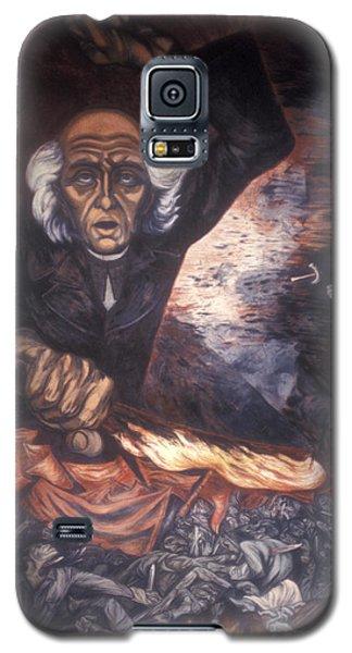 Orozco Mural Guadalajara Galaxy S5 Case by John  Mitchell