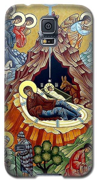 Orthodox Nativity Of Christ Galaxy S5 Case