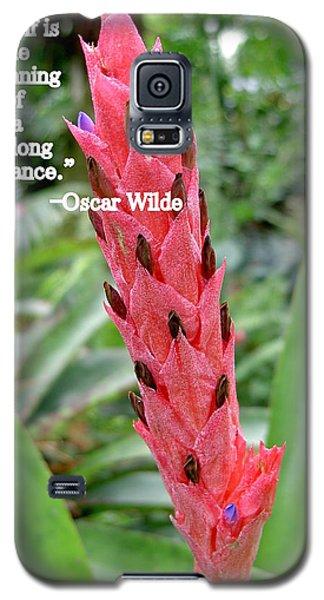 Oscar Wilde Galaxy S5 Case