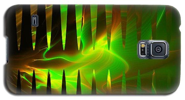 Galaxy S5 Case featuring the digital art Oscllscope by Melissa Messick