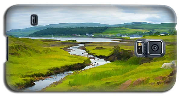 Osdale River Leading Into Loch Dunvegan In Scotland Galaxy S5 Case