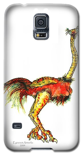 Ostrich Card No Wording Galaxy S5 Case