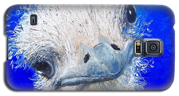 Ostrich Painting 'waldo' By Jan Matson Galaxy S5 Case