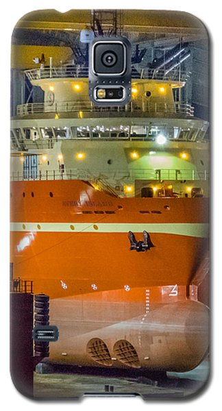 Osv In Port Fourchon Drydock Galaxy S5 Case