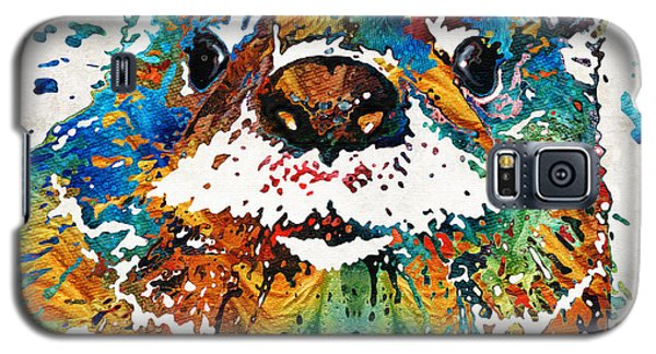 Otter Galaxy S5 Case - Otter Art - Ottertude - By Sharon Cummings by Sharon Cummings