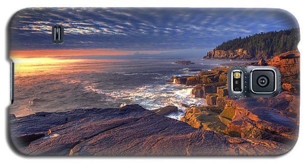 Otter Galaxy S5 Case - Otter Cove Sunrise by Marco Crupi