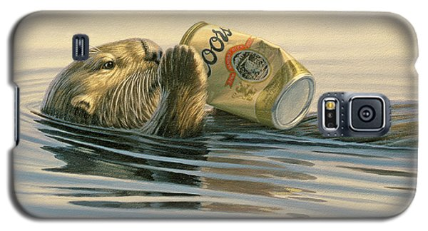 Otter Galaxy S5 Case - Otter's Toy by Paul Krapf