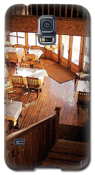 Galaxy S5 Case featuring the digital art Ottos - Galena Illinois by David Blank