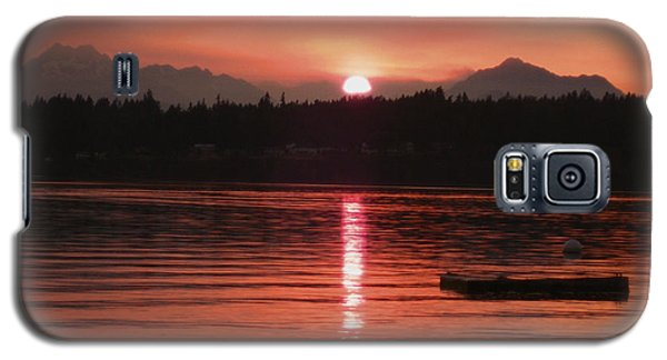 Our Beach At Sunset  Galaxy S5 Case by Kym Backland