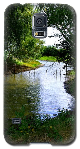 Our Fishing Hole Galaxy S5 Case by Peter Piatt