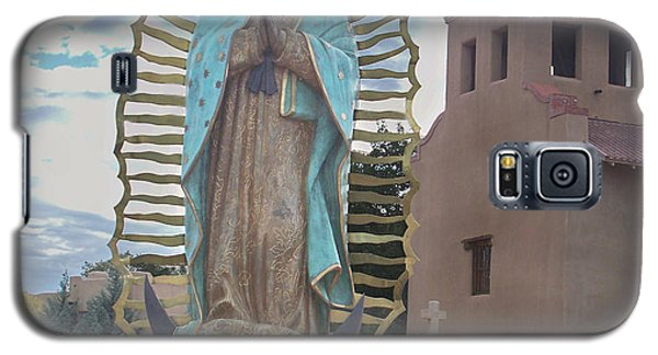 Galaxy S5 Case featuring the photograph Our Lady Of Guadalupe by Sylvia Thornton