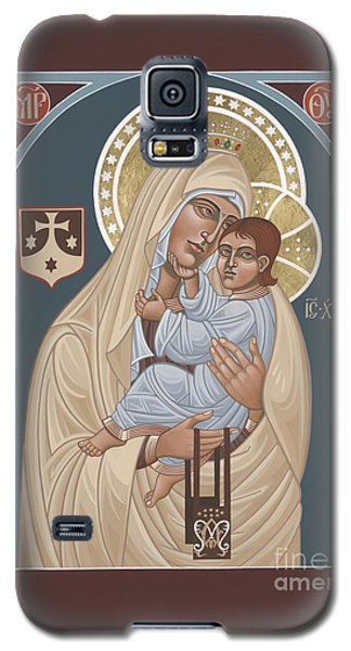 Galaxy S5 Case featuring the painting Our Lady Of Mt. Carmel 255 by William Hart McNichols