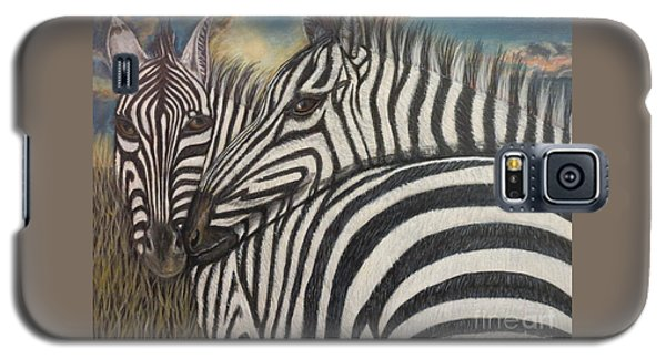 Our Stripes May Be Different But Our Hearts Beat As One Galaxy S5 Case by Kimberlee Baxter