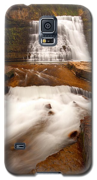 Galaxy S5 Case featuring the photograph Ousel Falls by Aaron Whittemore
