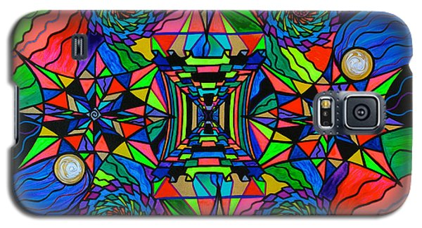 Swan Galaxy S5 Case - Out Of Body Activation Grid by Teal Eye  Print Store