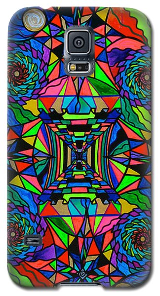 Out Of Body Activation Grid Galaxy S5 Case