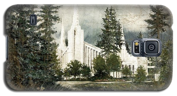 Out Of The Wilderness Portland Oregon Temple Galaxy S5 Case