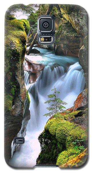 Out On A Ledge Galaxy S5 Case