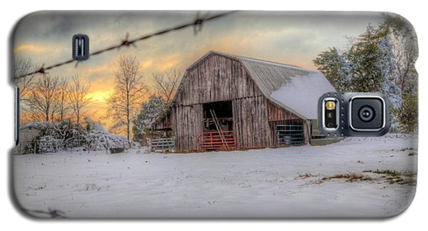 Galaxy S5 Case featuring the photograph Out On The Farm by Micah Goff